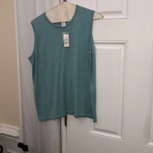 Dress Barn Tops - Shell blouse that is beaded